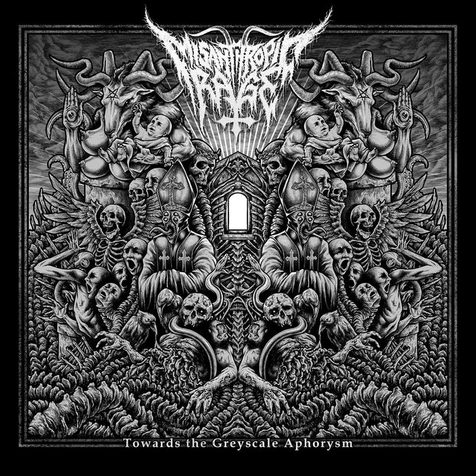 Misanthropic Rage ‎– Towards The Greyscale Aphorysm (CD)