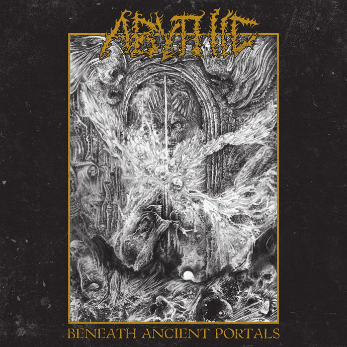 Abythic ‎– Beneath Ancient Portals  (CD)