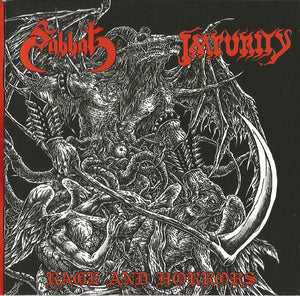 Impurity / Sabbat ‎– Rage And Horrors (CD)