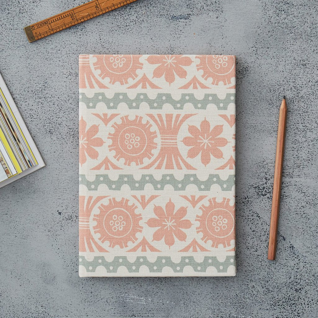 Angie Lewin notebook for St Jude's