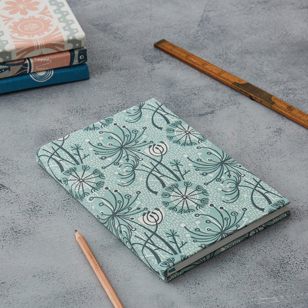 Ange Lewin - one of a range of fabric covered notebooks for St Jude's
