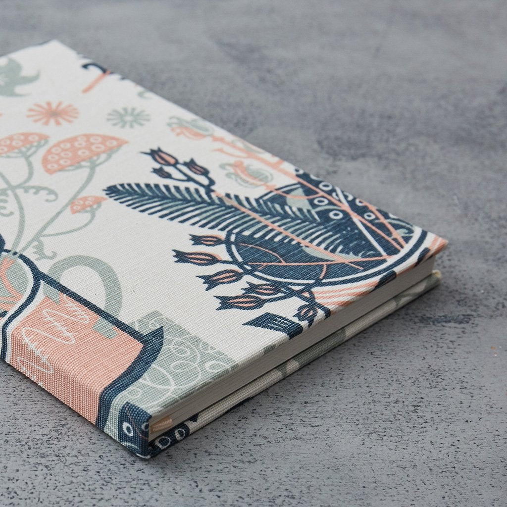 Angie Lewin fabric covered notebook