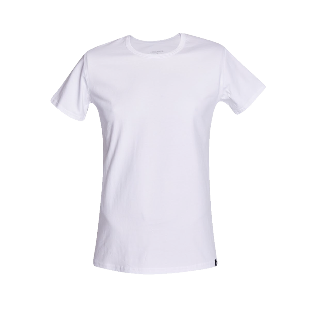 Jockey® Plain Cotton Stretch Short Sleeve Crew Neck Under Shirt