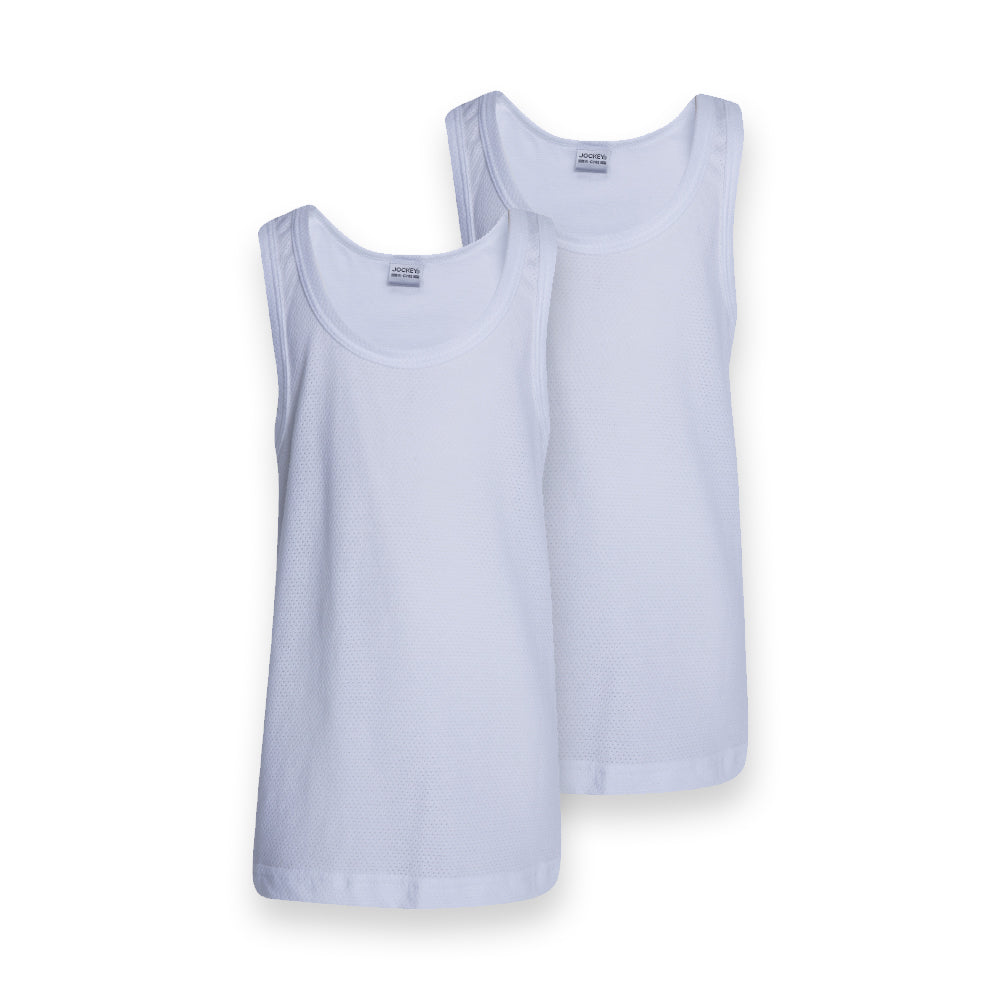2 Pack Boys Interlock Vest
