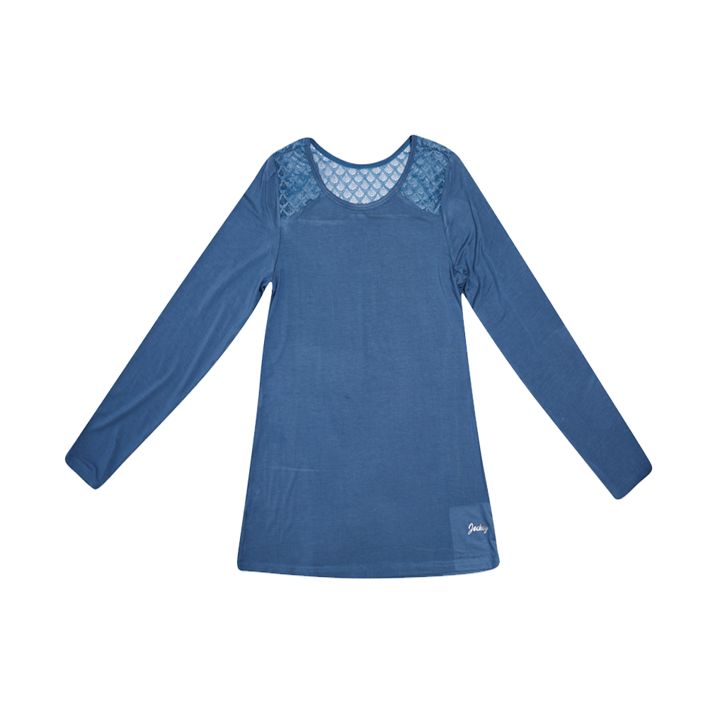 Jockey® Ripple Lace Shorter Length Top