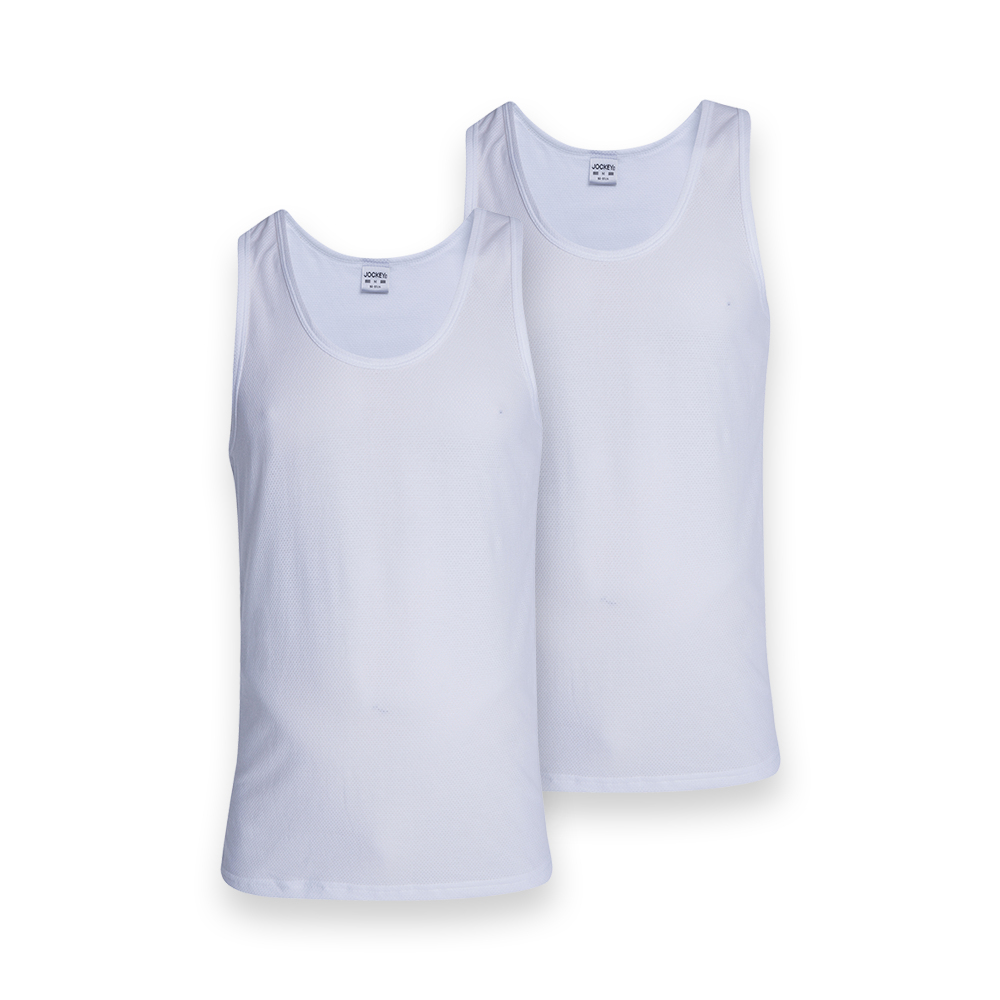 Jockey® 2 Pack Athletic Vest