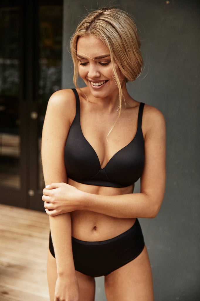 Moderate Coverage Molded Cup Bra