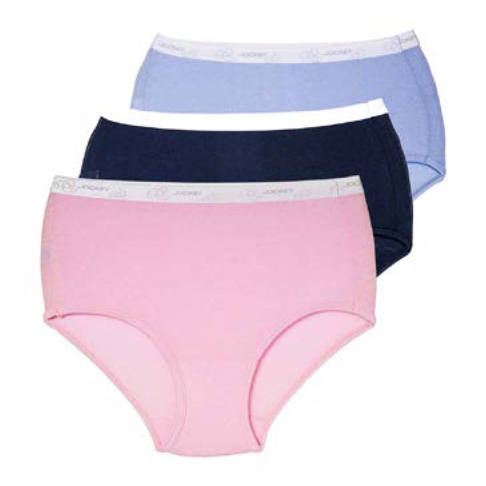 Jockey® 3 Pack Plain Full Brief