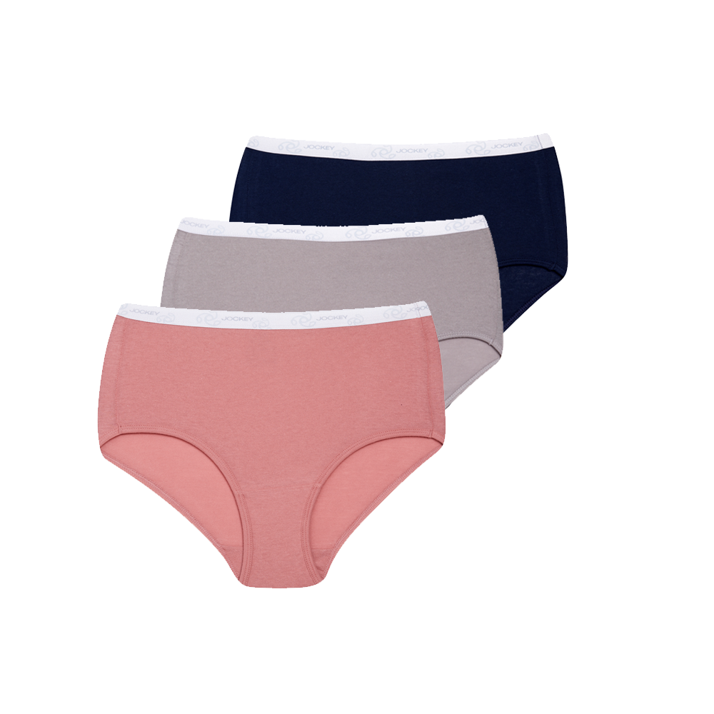 Jockey® Ladies Full Brief 3 Pack