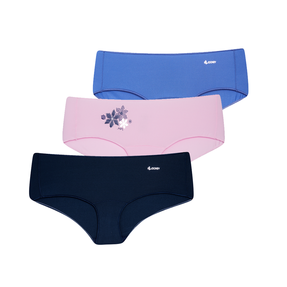 Jockey® NPL Knicker Shorts 3 Pack