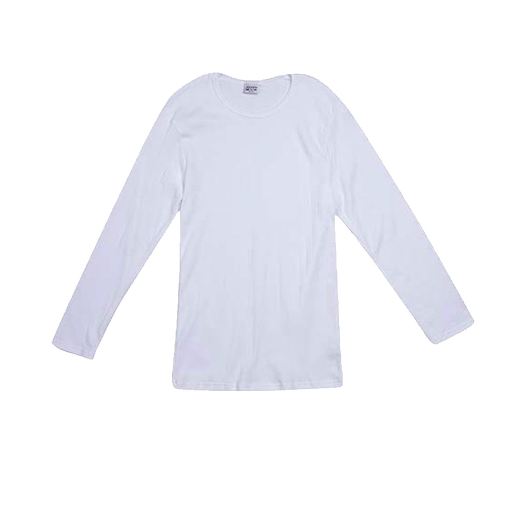 1 Pack Drop Needle Interlock L/S Undershirt
