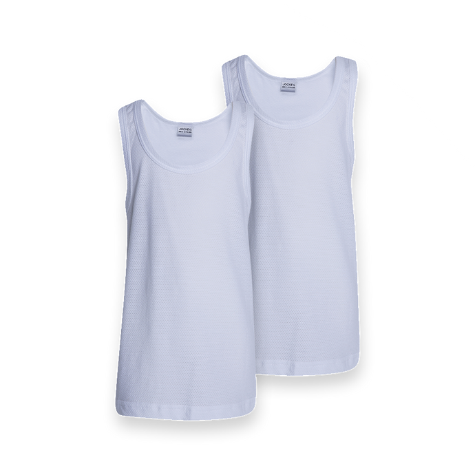 2 Pack Boys Athletic Vest