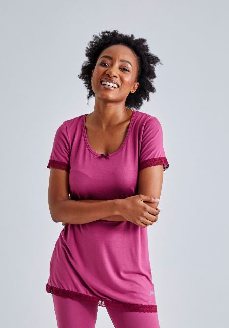 Jockey® Moonlight Delight Short Sleeve Top