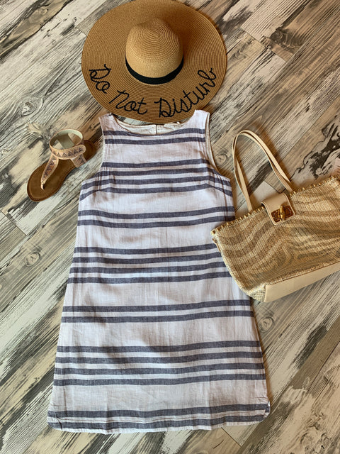 Alina Linen Beach Dress- XS only