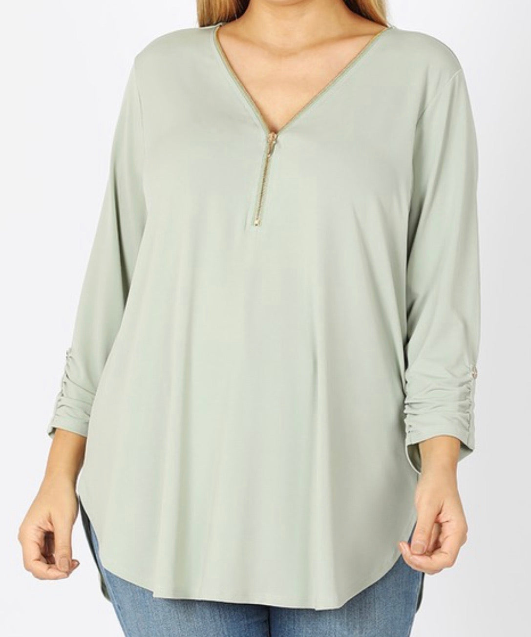 Penny 3/4 Sleeve Top