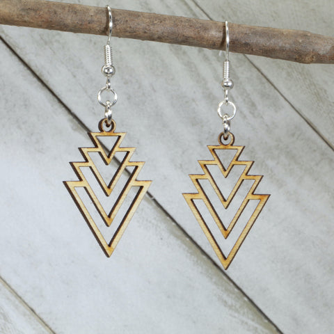 Art Deco & Nouveau Earrings