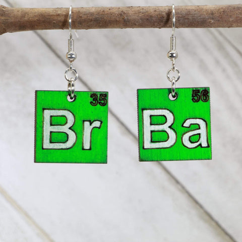 Breaking Bad Br Ba Dangle Earrings