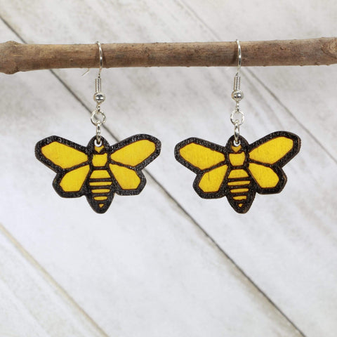 Breaking Bad Moth Dangle Earrings