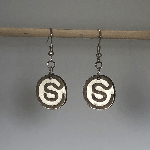 Caitlin Studley Wooden Dangle Earrings