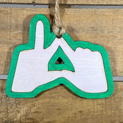 Sorority Ornaments - Hand Gestures - cates-concepts.