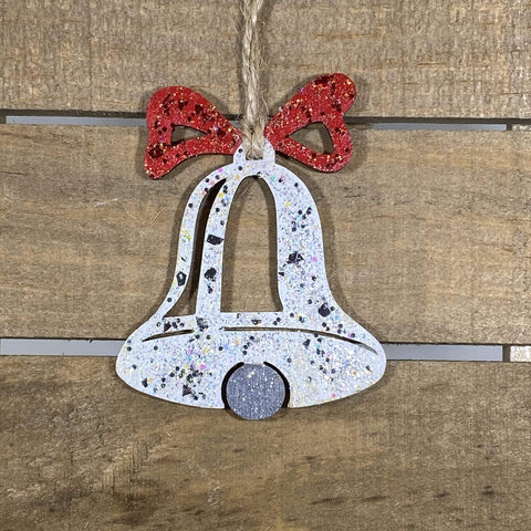 Christmas Bell Wooden Christmas Ornaments