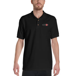 CHCA Embroidered Polo Shirt