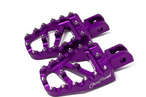 Softail MX Coffin Pegs Purple Haze