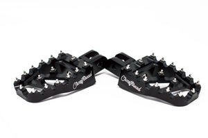 Softail MX Coffin Pegs Black