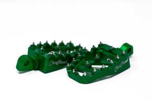Crossthread MX Coffin Pegs Green