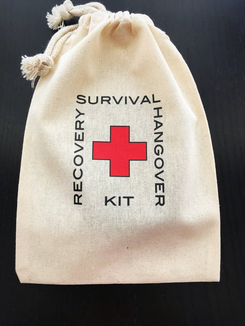 survival kit for destination weddings or adult party favors