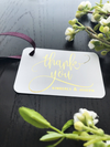 Thank You Wedding Favor Tags