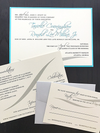 Wedding Invite Pocket Suite - Clutch Style Invite