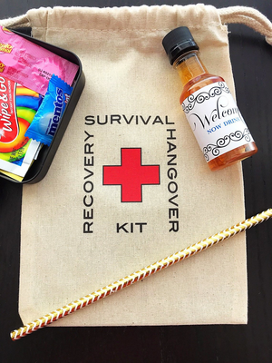 The perfect hangover kit ever!