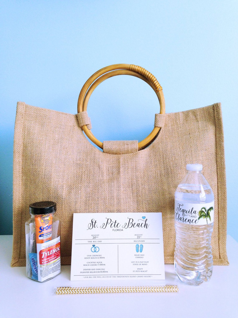 Welcome Bags - Destination Wedding Guest Bags