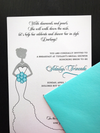 Tiffany Blue Bridal Shower Invite