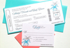 Airline Ticket Invite