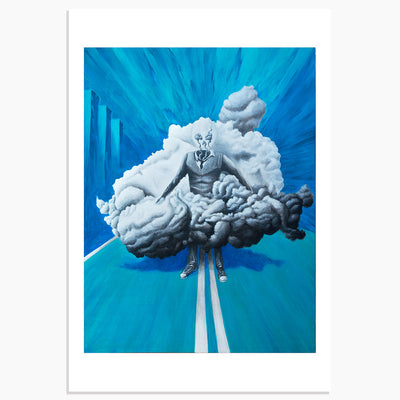 TRANSIENT AMBITION by Paulie Nassar 13x19 Limited Edition of 10 Prints