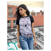 U R SAFE WITH ME by artist Urban Russian Doll - Limited Edition Women's T-shirt