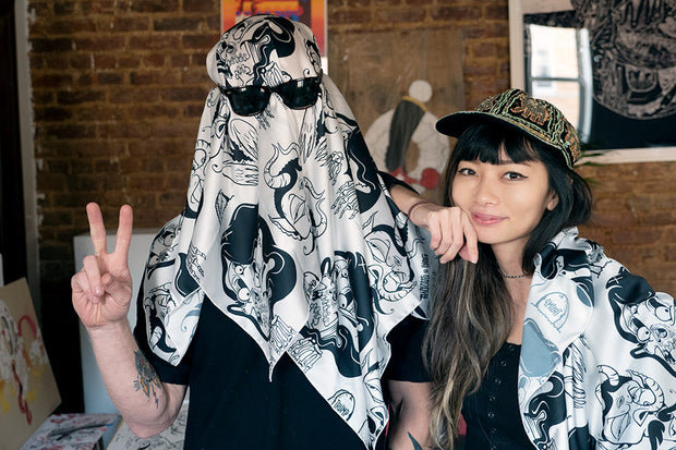 sheryo and yok limited edition scarf