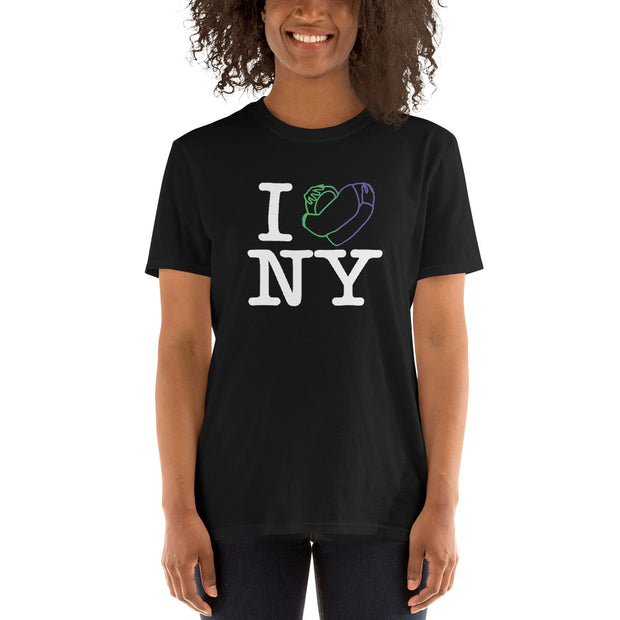 BELLAPHAME - I LOVE NYC - Short-Sleeve Unisex T-Shirt (BLK)