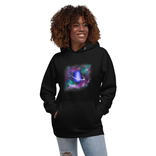 COSMIC by artist Urban Russian Doll - Unisex Hoodie