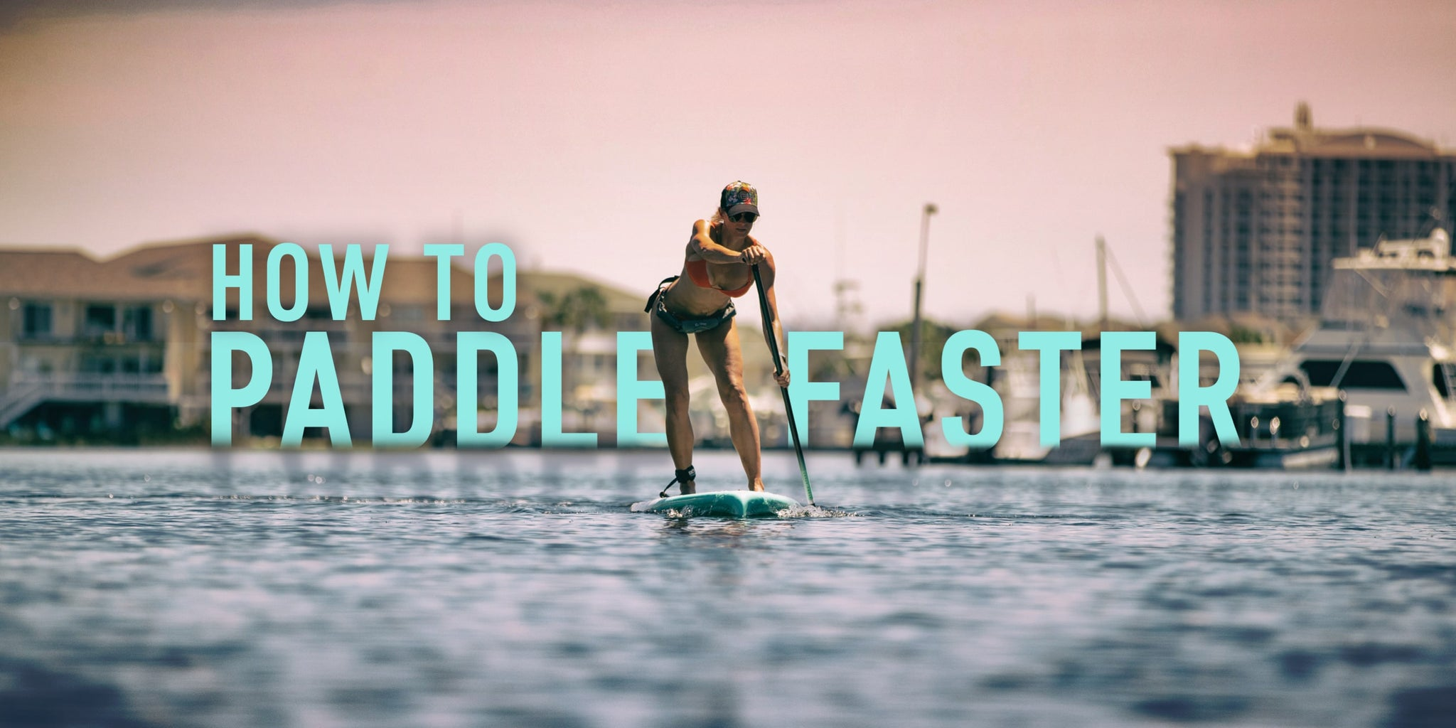 How to Paddle Faster