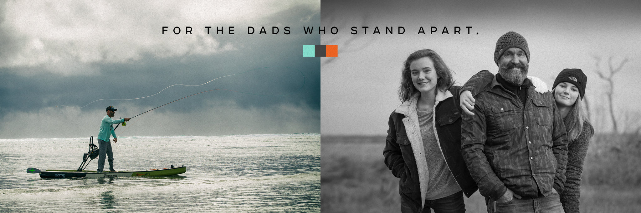 For Dads Who Stand Apart