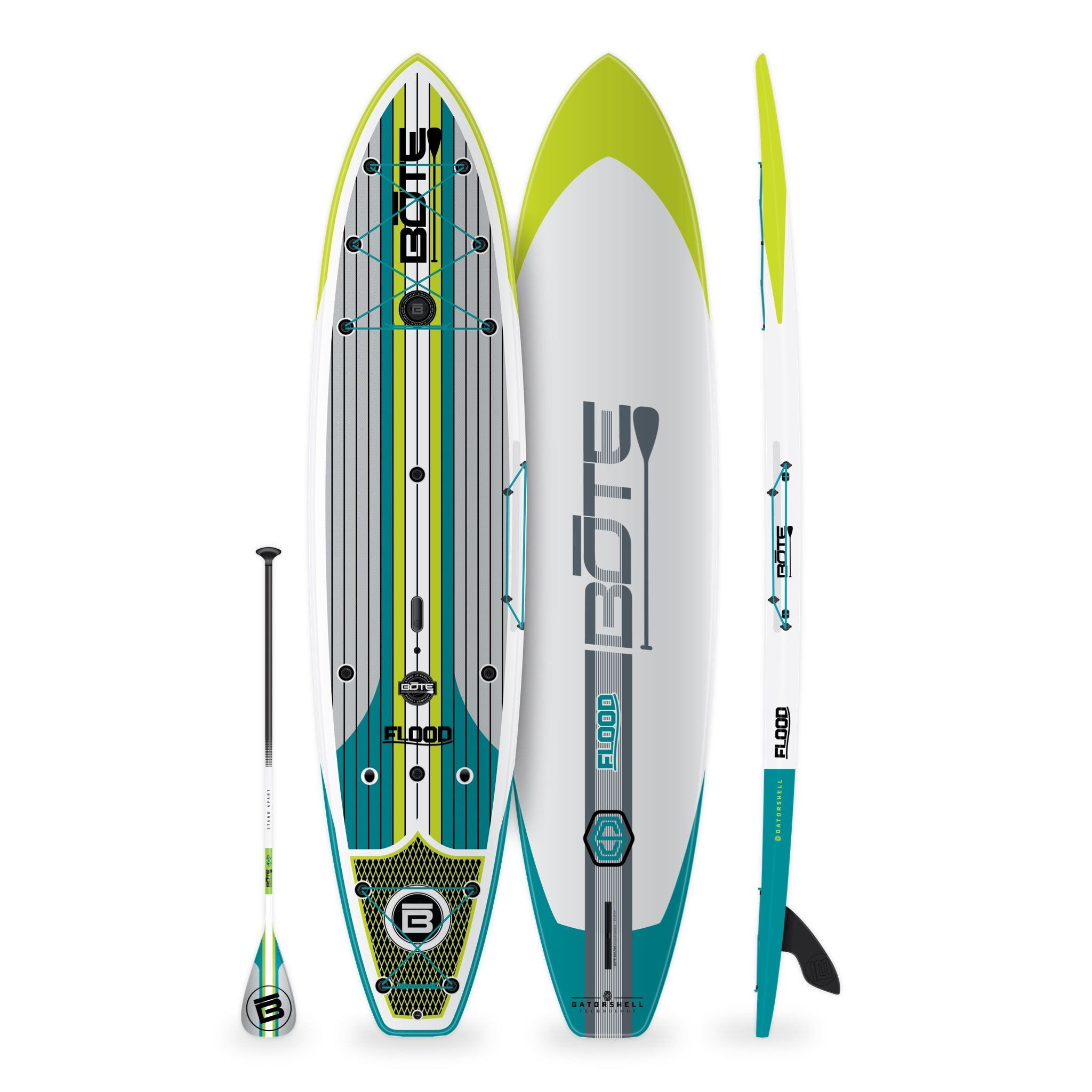 Flood Paddle Board Essentials Package