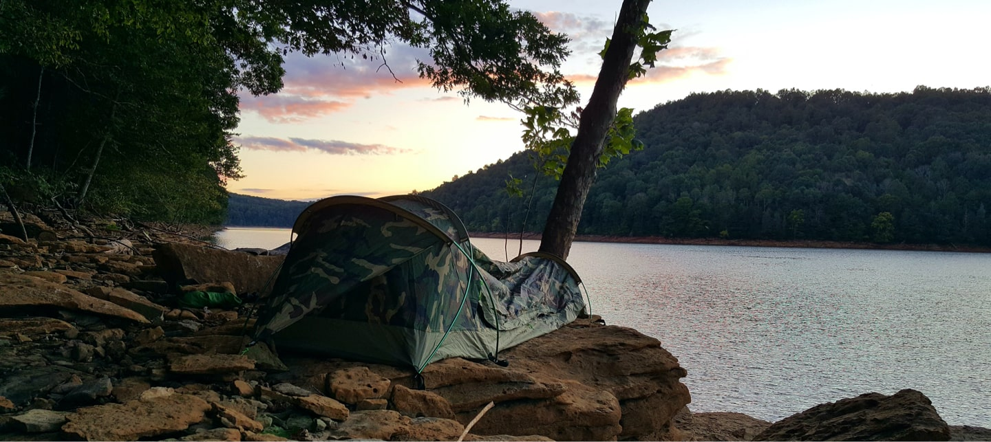 Camping along the water is something everyone should experience