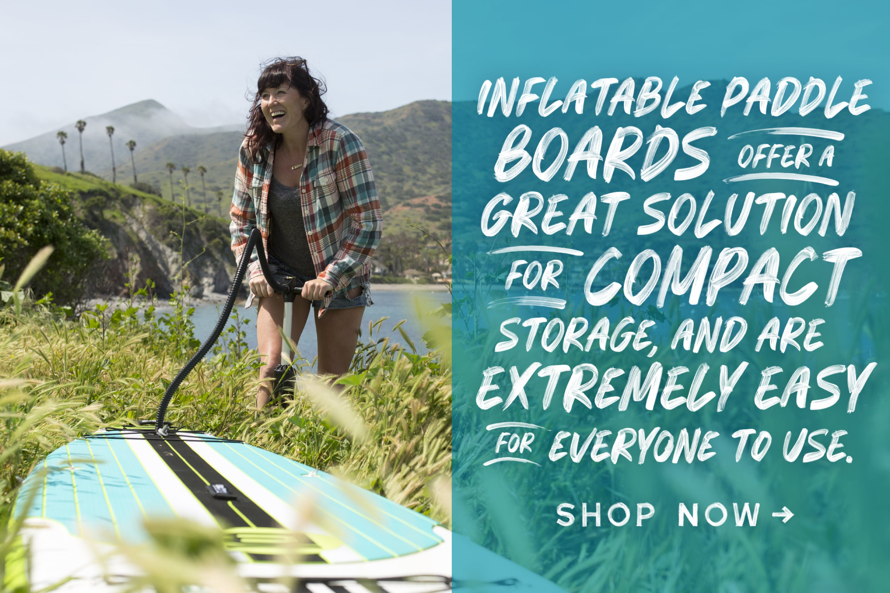 BOTE SUP Camping, Durable and Highly Portable Inflatable Paddle Boards