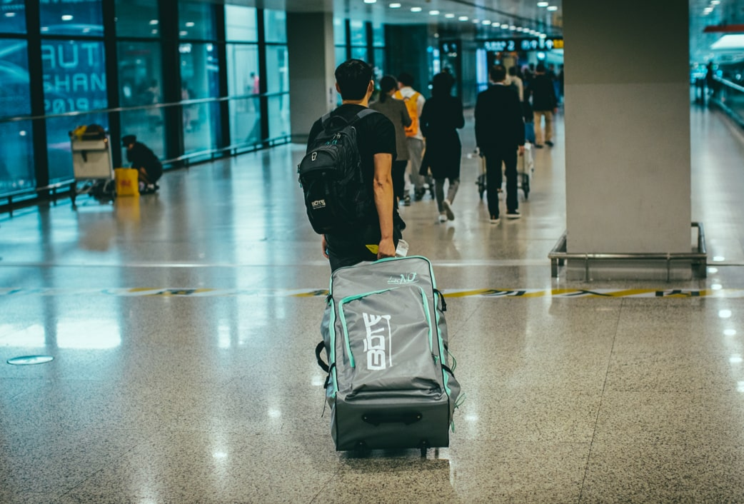 The LONO Aero inflatable kayak is easily portable and can be checked on a majority of major airlines