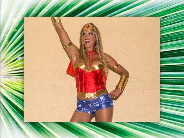 Magda Cooper, Wonder Woman For Halloween and Wonder Woman in Life