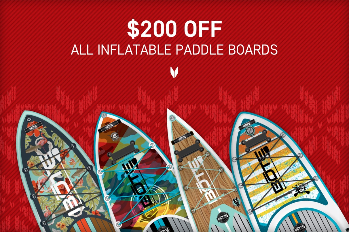 $200 OFF Aero Inflatable Paddle Boards