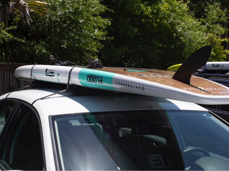 Vehicle Mounting Your Paddle Board